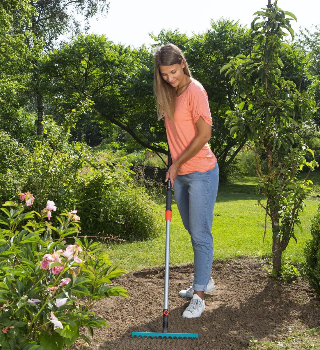Trädgårdskratta, 14 pinnar