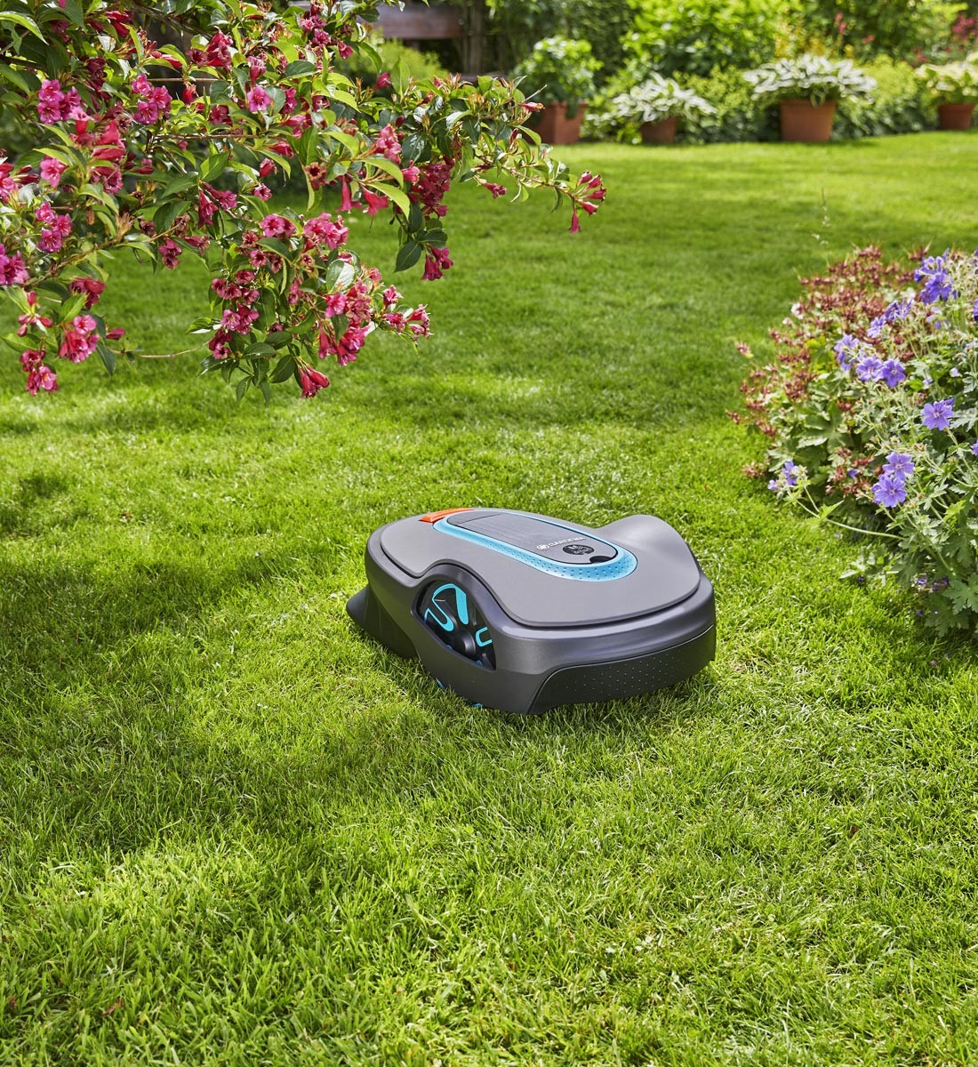 Robotklippare smart Sileno Life 1000