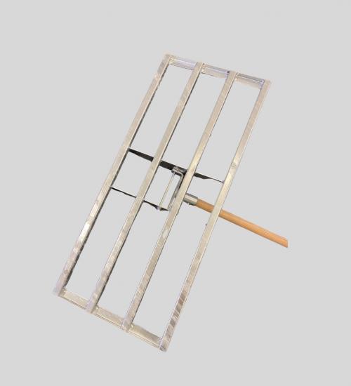 Dressraka galvaniserad stål