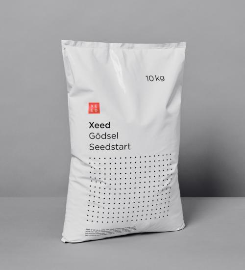 Organiskt gräsgödsel Seedstart 10kg