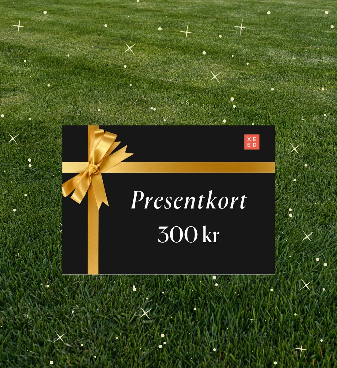 Presentkort för gräsfrön & gödsel på Xeed