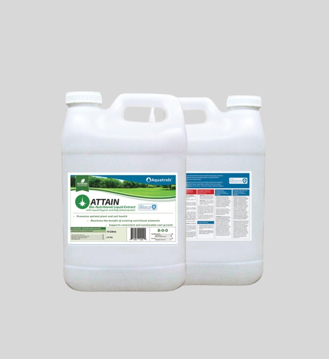 Biostimulant Attain till gräsmattan