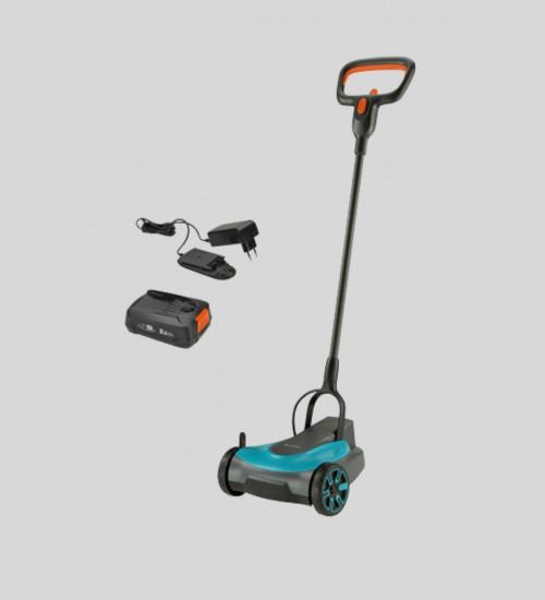 Batteridriven gräsklippare HandyMower komplett batteri laddare