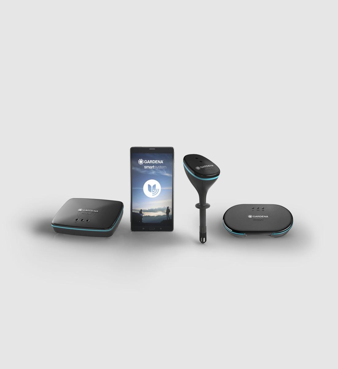 smart Irrigation Control Set med Sensor